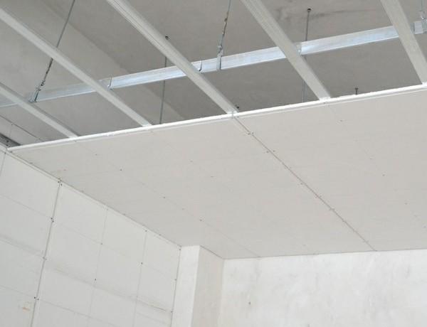 Gypsum ceiling System - metal studs Kenya
