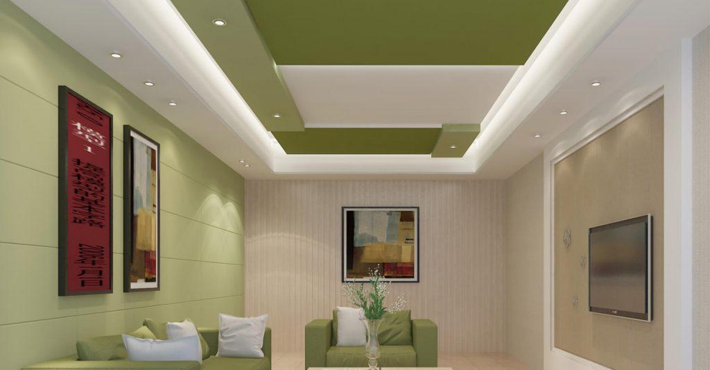 Gypsum ceiling kenya living room 0124