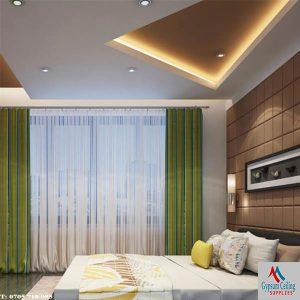 Gypsum Ceiling design bedroom 3