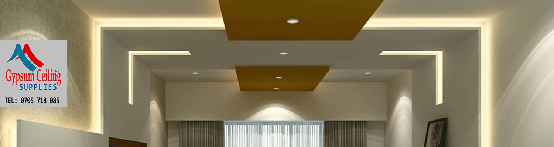 Gypsum Ceiling designs in Kenya