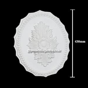 Gypsum Medallion D001