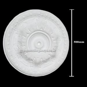 Gypsum Medallion D005
