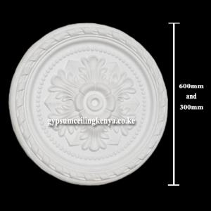 Gypsum Medallion D006