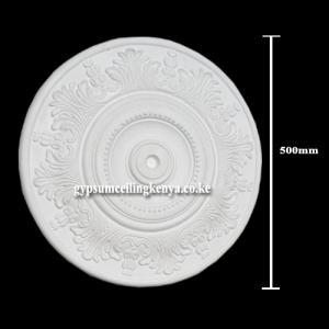 Gypsum Medallion D1016