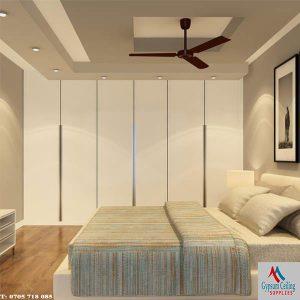 Gypsum ceiling design bedroom 7