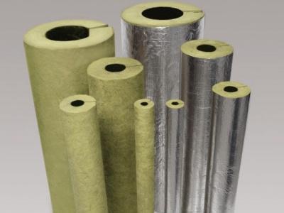 Pipe insulation rockwool