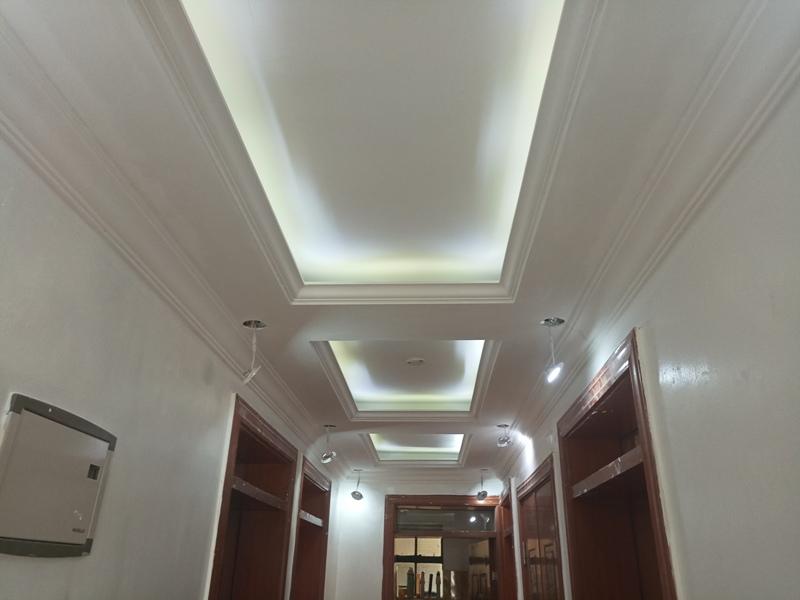 Corridor Design Ceiling: Gypsum Ceilings & Interiors