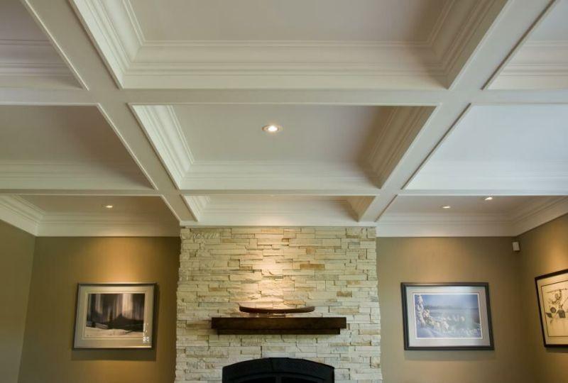 Gypsum ceiling Design - Living Room