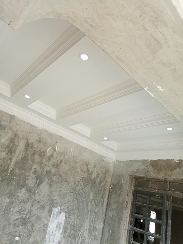 gypsum ceiling design walkways