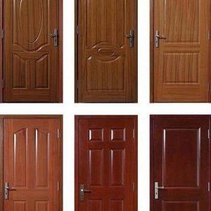Mahogany doors semi solid