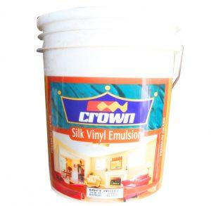 Crown silk emulsion