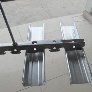 Galvanized steel v keel and sud